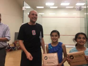 4th Grader Wins Squash Tournament at Stanford
