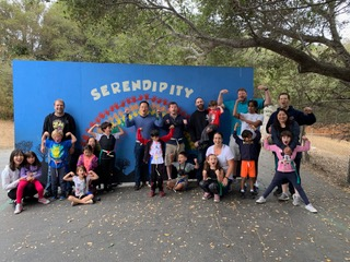 Serendipity's Bring Your Parents to P.E. Goes National